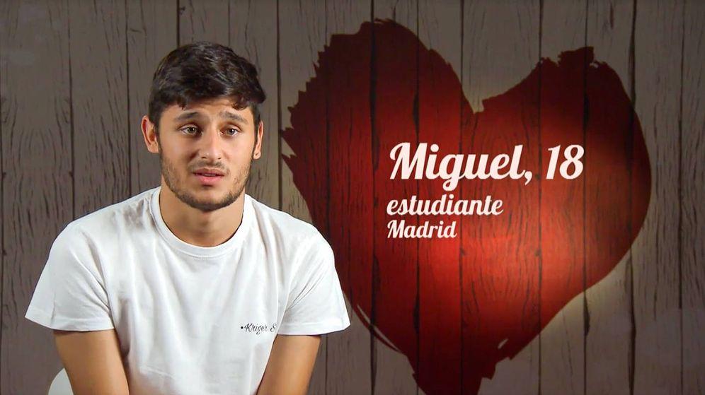 Foto: Miguel, la pareja de Estela, en 'First dates' (Mediaset)