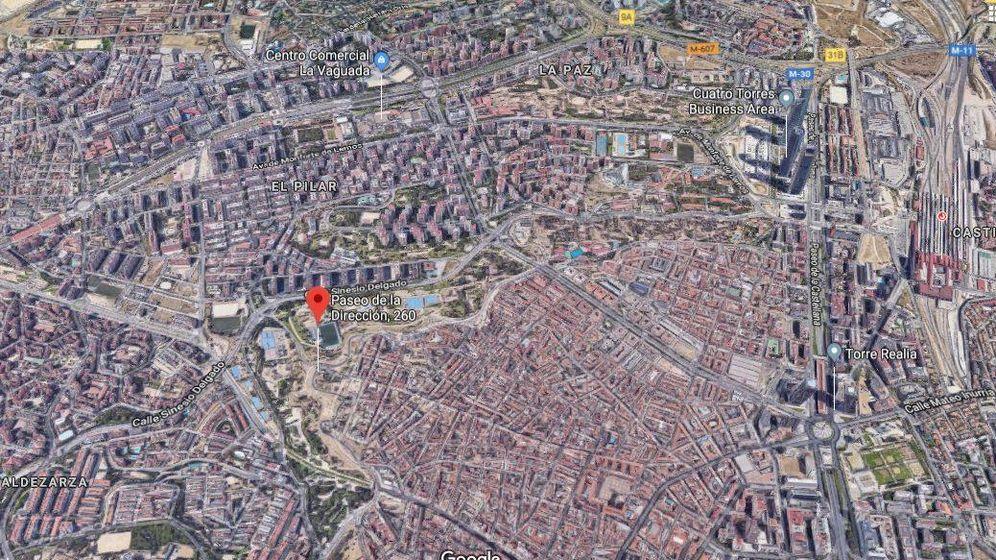 Foto: Imagen aérea de paseo de la Dirección.