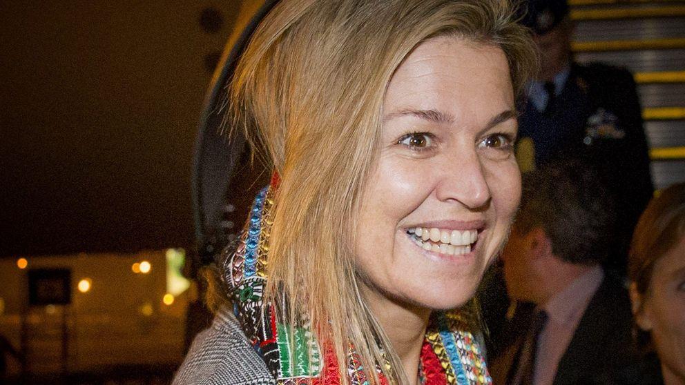 Algo pasa con la reina Máxima de Holanda: mala cara y poca agenda