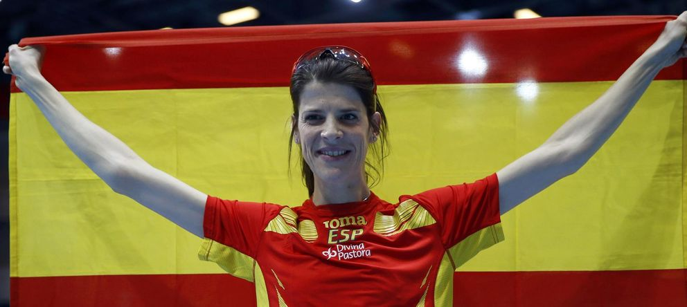 Ruth Beitia rescata a España en el Mundial con la décima medalla de su palmarés
