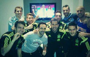 Iker y La Roja muestran su apoyo a Cañizares en 'A bailar!'