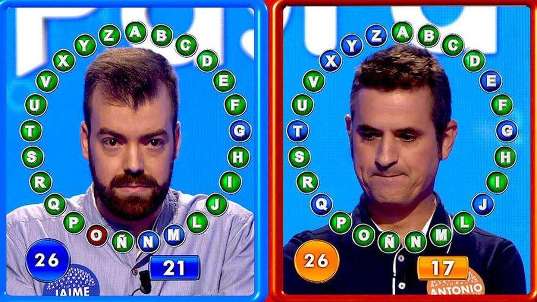 Duelo entre Jaime Conde y Antonio Ruiz. (Mediaset)