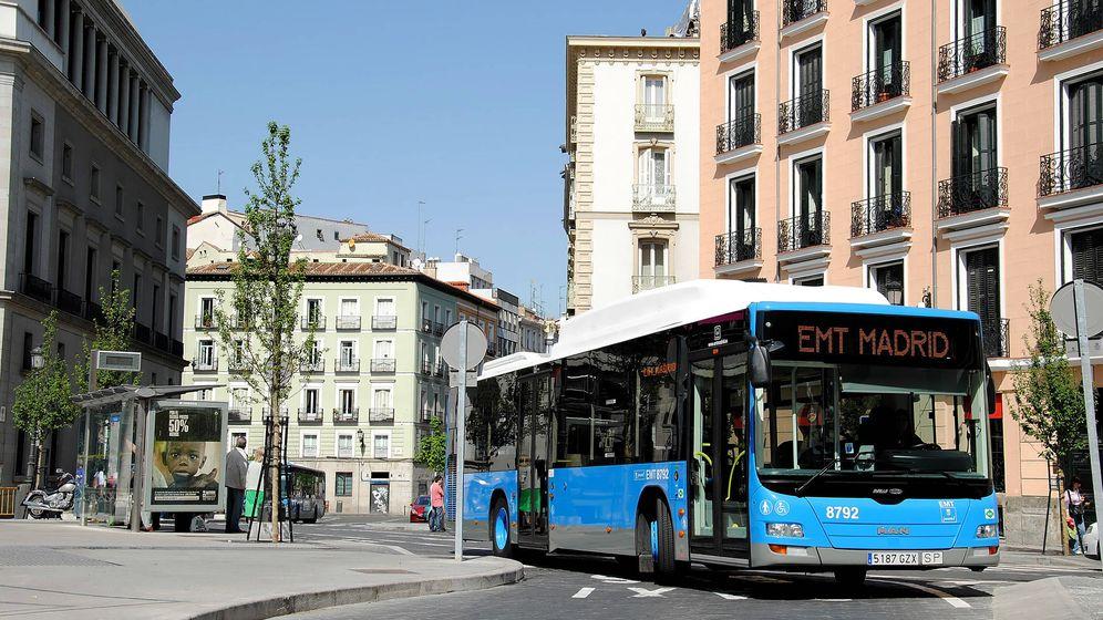 Foto: Autobús de la Empresa Municipal de Transportes de Madrid (EMT)
