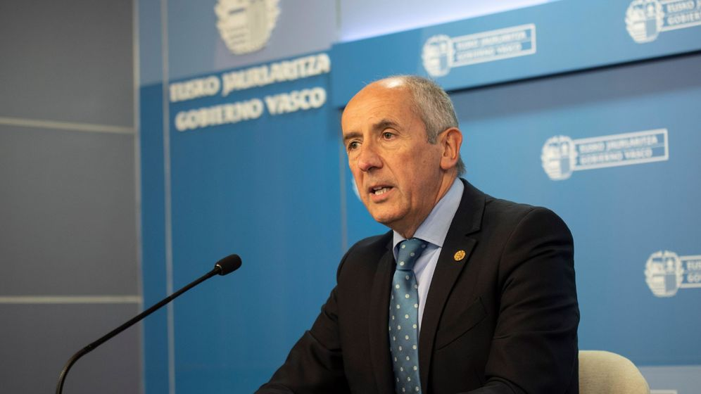 Foto: El portavoz del Gobierno vasco, Josu Erkoreka. (EFE)