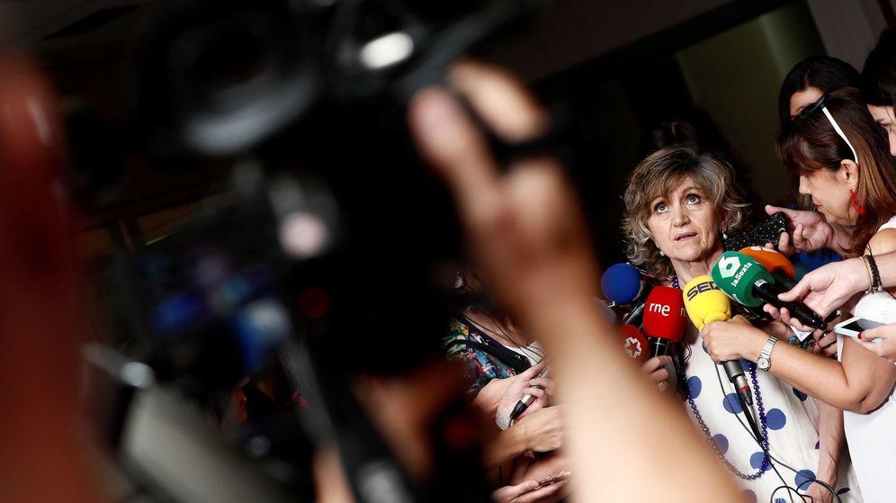 Foto: La ministra de Sanidad en funciones, María Luisa Carcedo. (EFE)