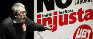 Foto: Méndez será el dirigente de UGT con más años en el cargo después de Pablo Iglesias