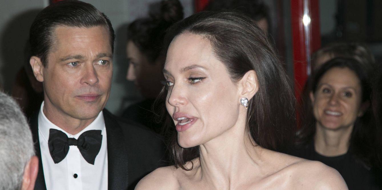 Foto: Brad Pitt y Angelina Jolie en una imagen de archivo (Gtres)