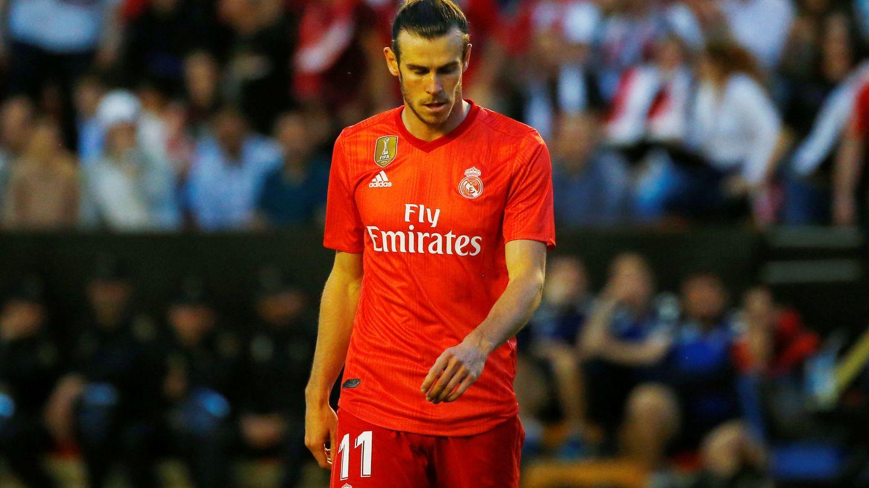Bale, durante el partido contra el Rayo Vallecano. (EFE)