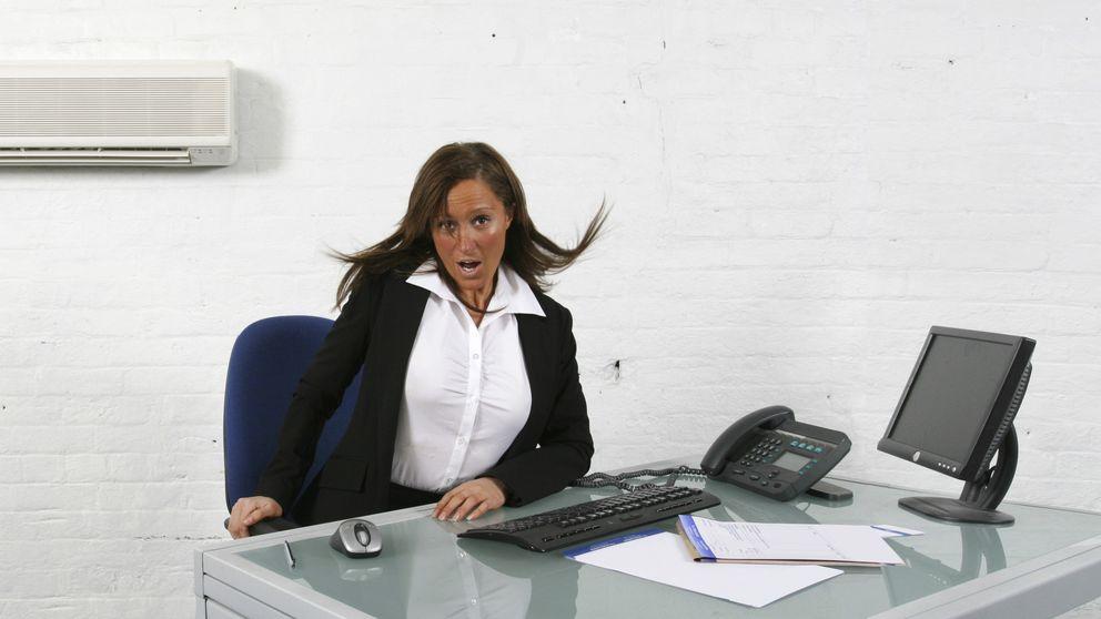 El mal uso del aire acondicionado dispara los resfriados en la oficina