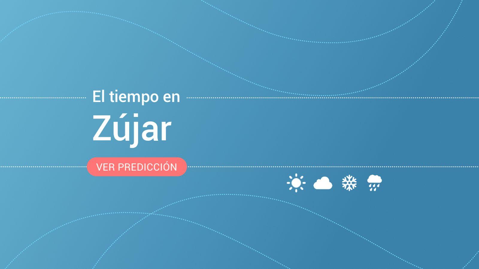 Foto: El tiempo en Zújar. (EC)