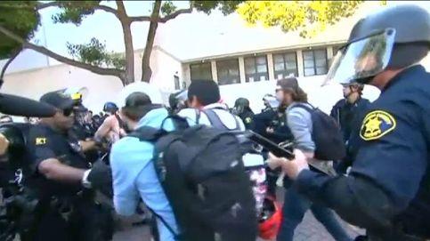 Enfrentamientos entre radicales de derecha e izquierda en San Francisco