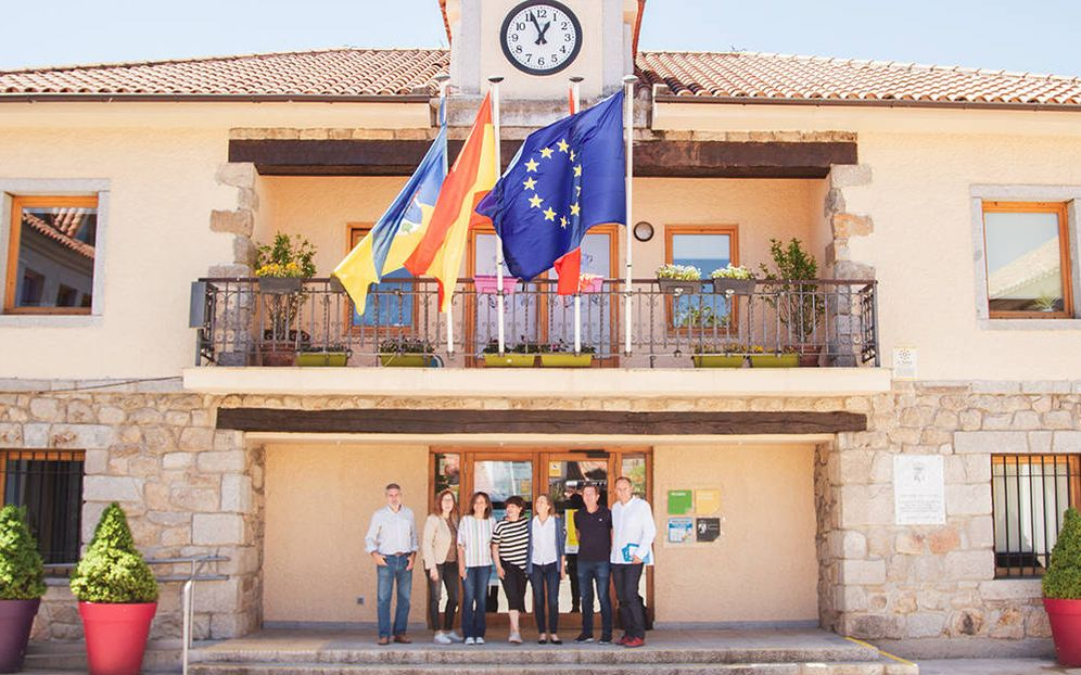 Foto: El partido Vecinos por Torrelodones surgió en 2007 de una plataforma en contra de un pelotazo urbanístico. (Jorge Álvaro Manzano)