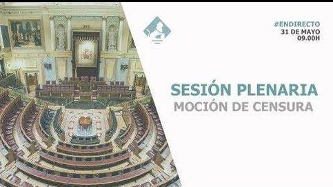 Siga en directo la moción de censura a Rajoy
