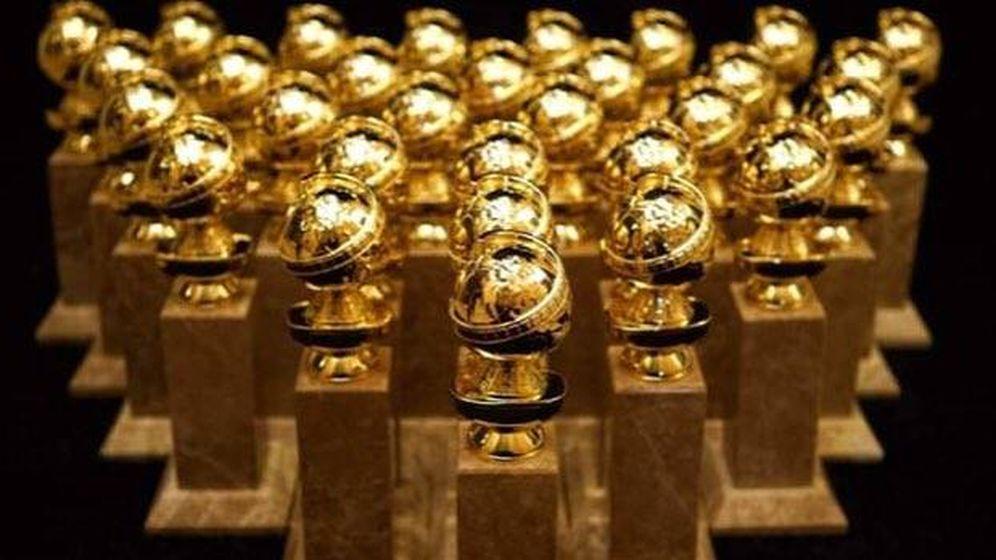 Foto: Ya están preparados los Globos de Oro que se repartirán en Los Ángeles. (Golden Globe Awards)
