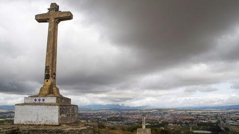 Vitoria tiene su particular Valle de los Caídos: discordia con la cruz de Olárizu