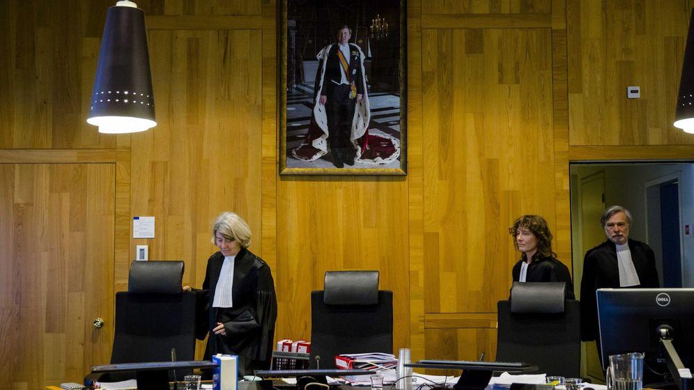 Foto: Juicio en la Corte Permanente de Arbitraje de La Haya (Holanda), el pasado 9 de febrero de 2016. (EFE)
