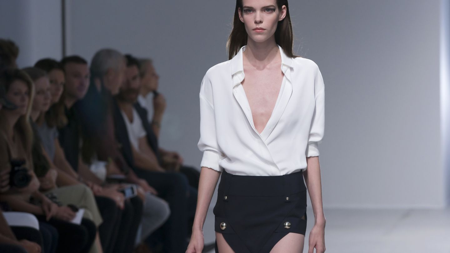 Anthony Vaccarello Spring/Summer 2014