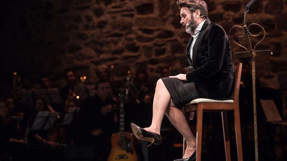 Foto: Fernando Tejero presenta la gala de los Premios San Pancracio. (EFE)