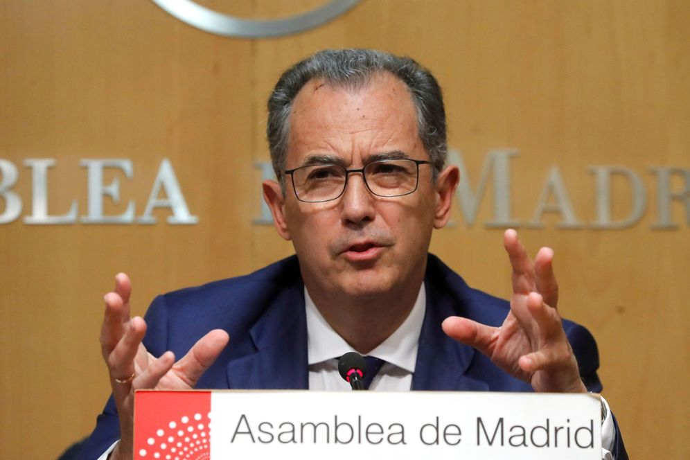 Foto: Enrique Ossorio, consejero de Educación de Madrid. Efe