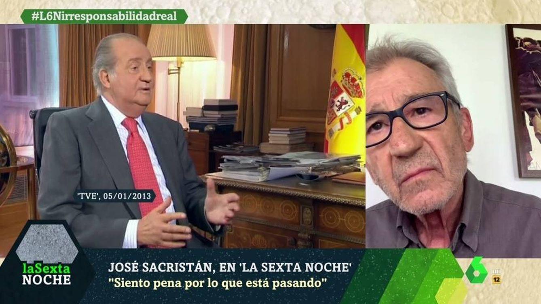 'La Sexta noche' | José Sancristán sentencia a Juan Carlos: Es cutre, lamentable y choricero