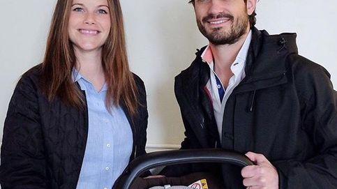 Carlos Felipe y Sofía ya están en casa tras el nacimiento de su primer hijo