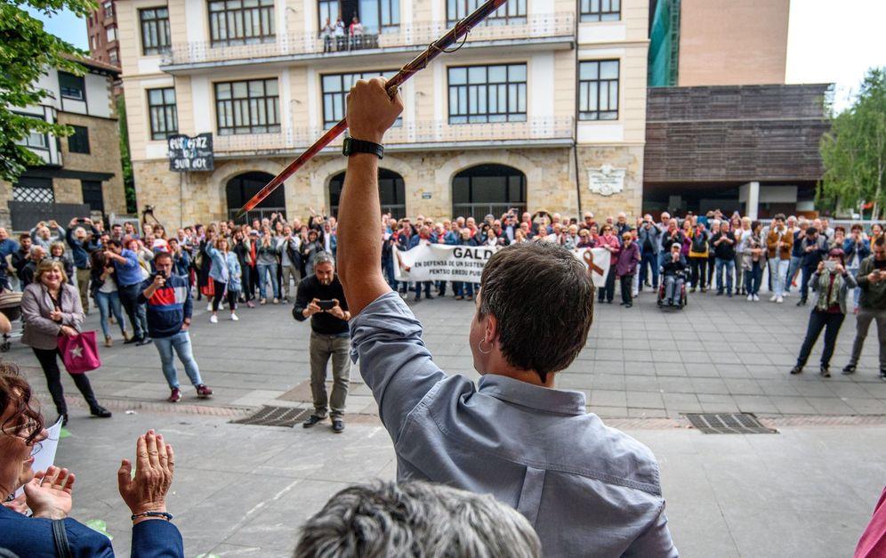 Foto: Pleno de constitución del Ayuntamiento de Galdakao. (EFE)