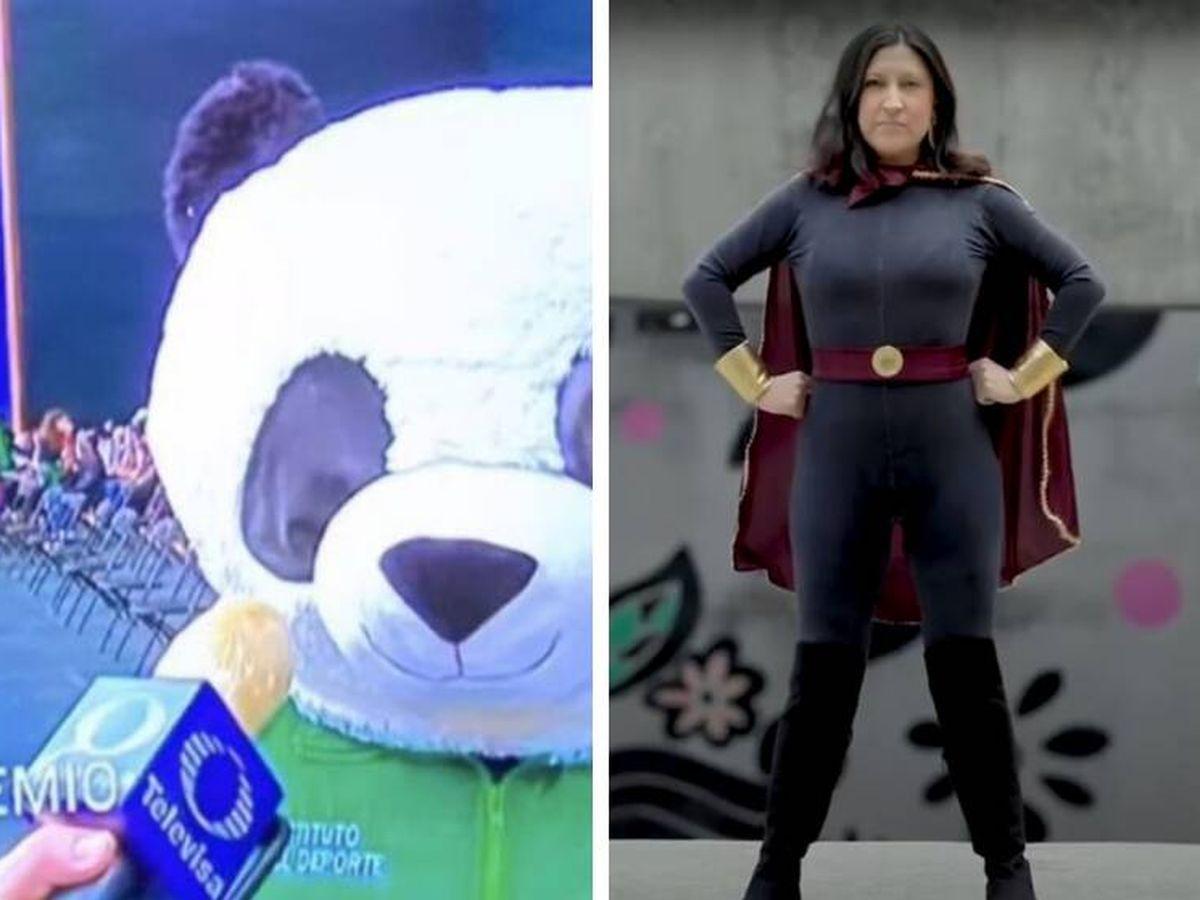 Foto: A la izquierda, Pandemio; a la derecha, Susana Distancia