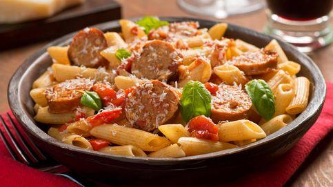 Recetas fitness: pasta con salchichas, tan fácil como deliciosa
