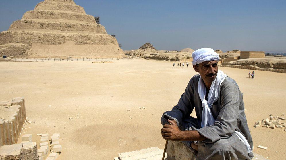 Foto: Pirámide de Zoser. (Reuters)