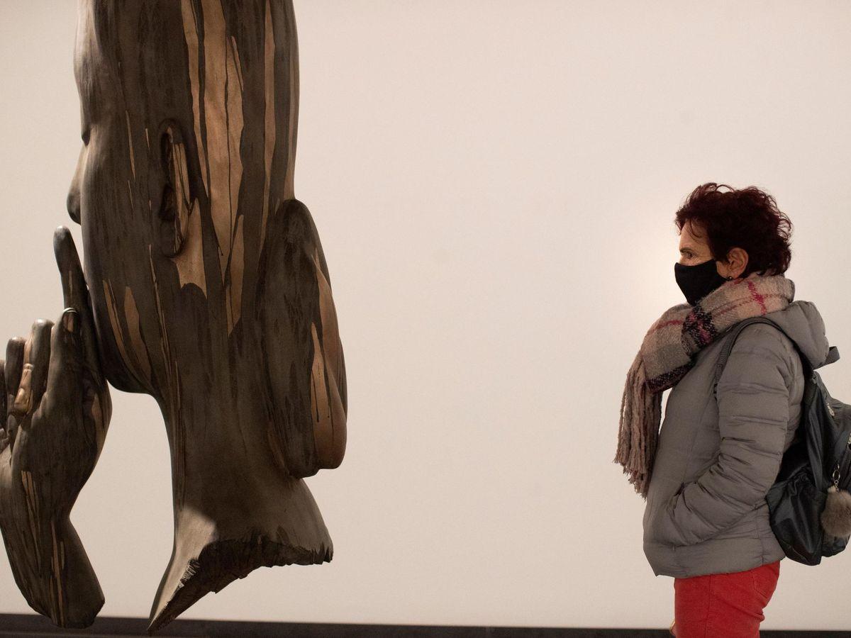 Foto: Escultura de Jaume Plensa. (EFE)