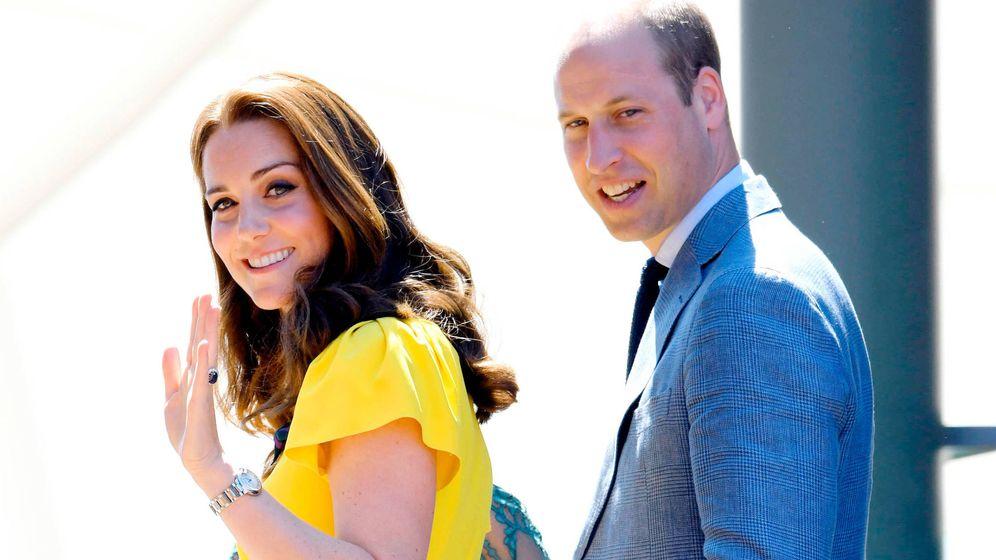Foto: Kate Middleton y el príncipe Guillermo, en una foto de archivo. (Getty)