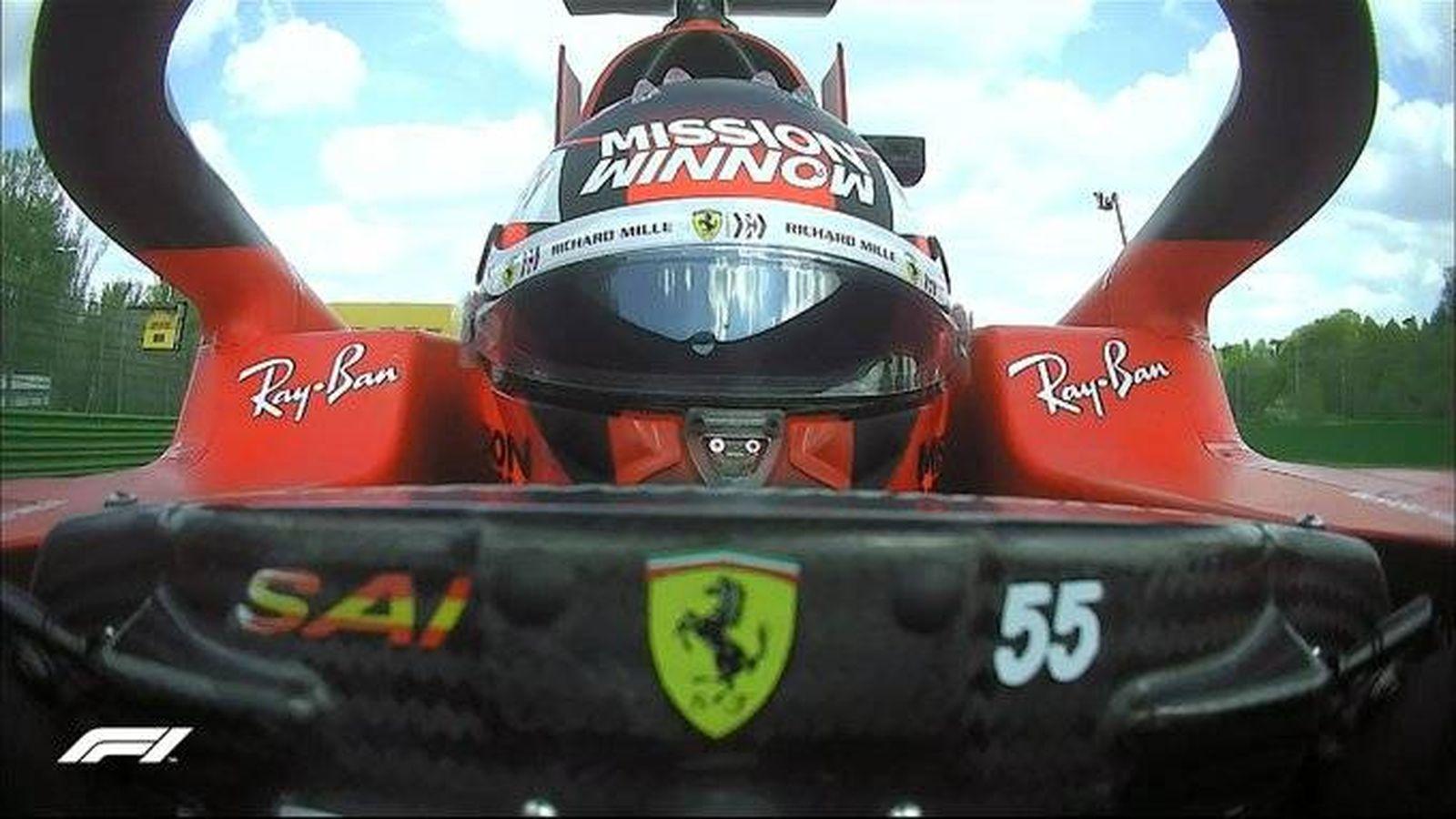 Carlos Sainz, lejos de Leclerc y fuera del Q3: cuando se impone la cruda realidad