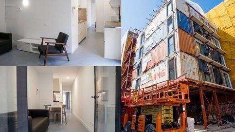Vivir en el contenedor de un barco: Barcelona acaba su primer edificio APROP