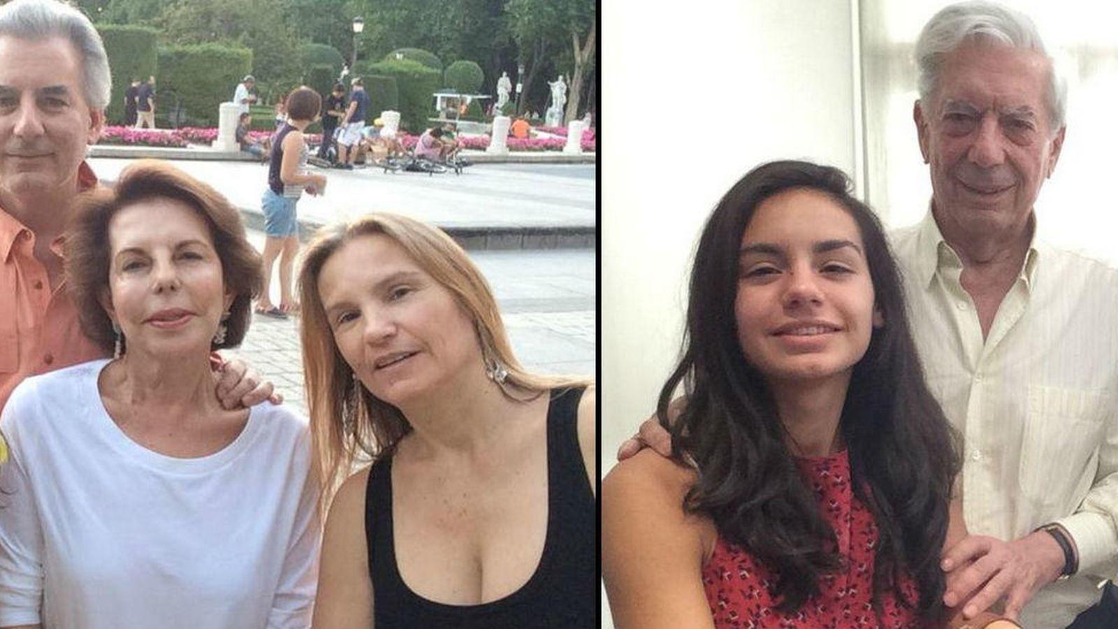 Foto: Álvaro y su familia alternan planes con Mario y Patricia