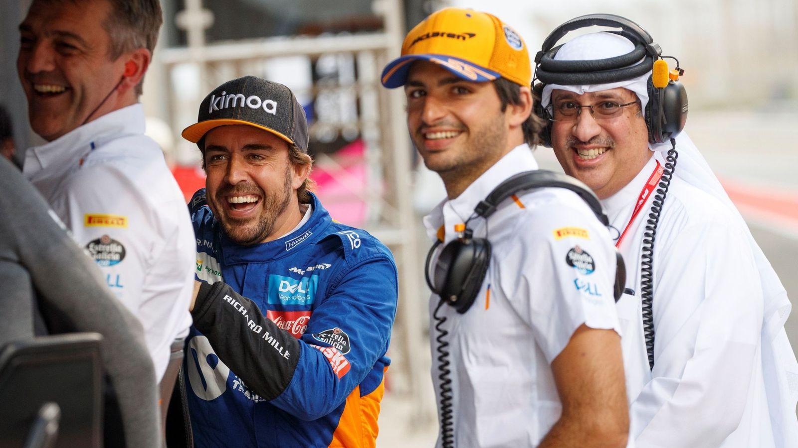Foto: Carlos Sainz en las pasadas pruebas en Bahrein. (EFE)