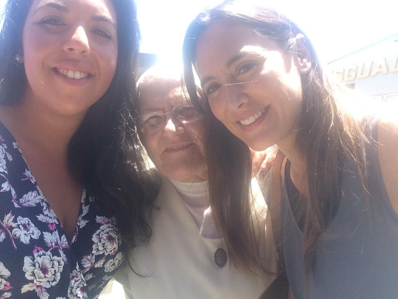 Foto: Tamara Falcó y sor Josefa, en una imagen del Facebook de Marina Sanz
