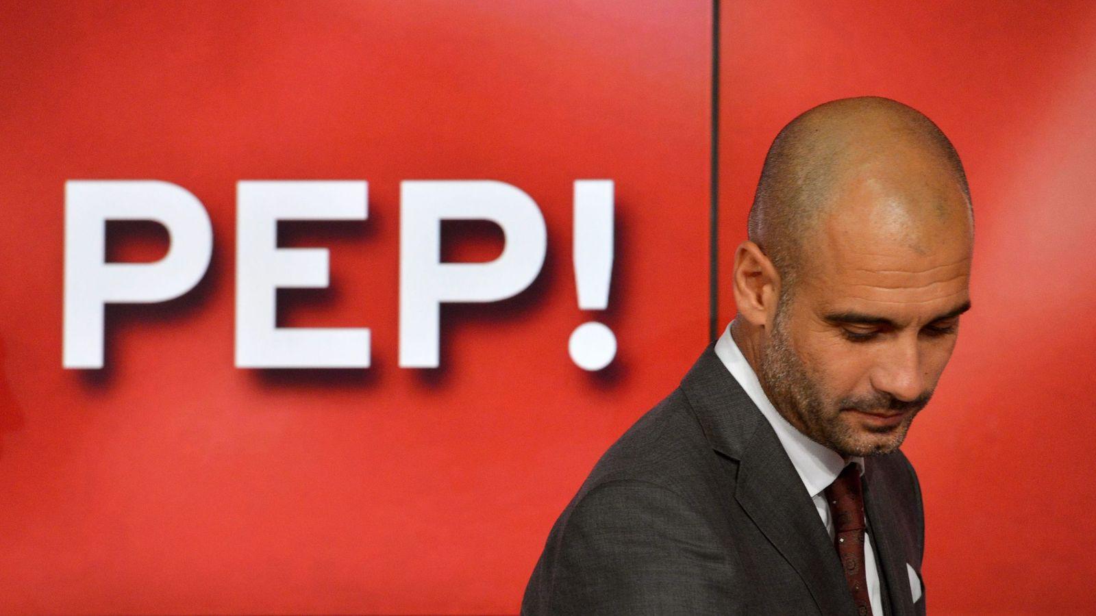 Foto: Pep Guardiola, entrenador del Bayern de Múnich. (EFE)