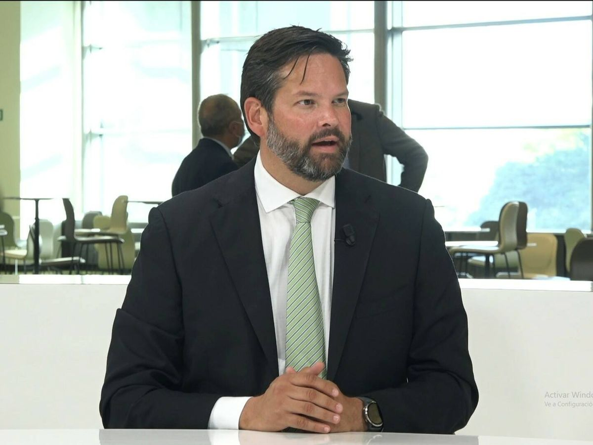 Foto: El eurodiputado austriaco Lukas Mandl. (María Zornoza)