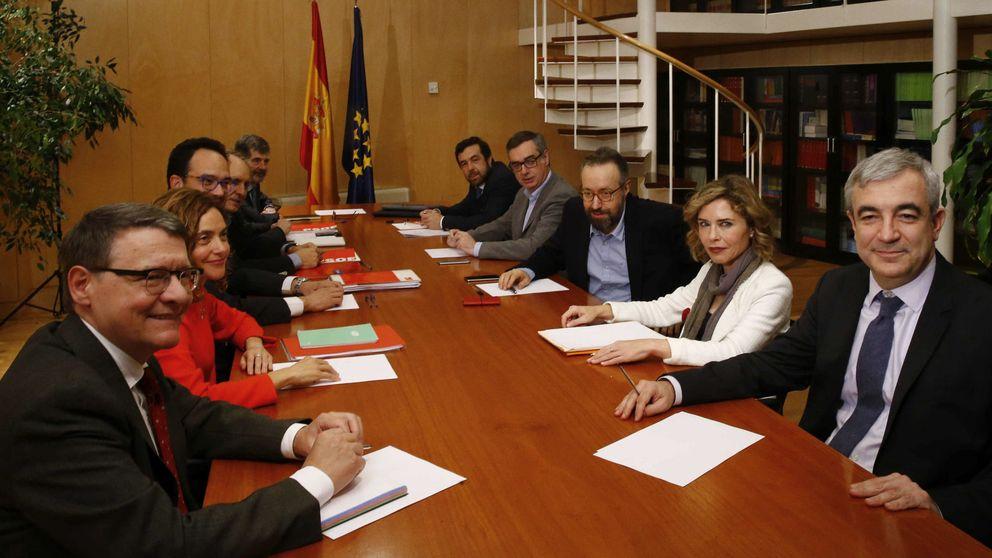 C's y PSOE expresan su voluntad real de firmar un pacto de investidura