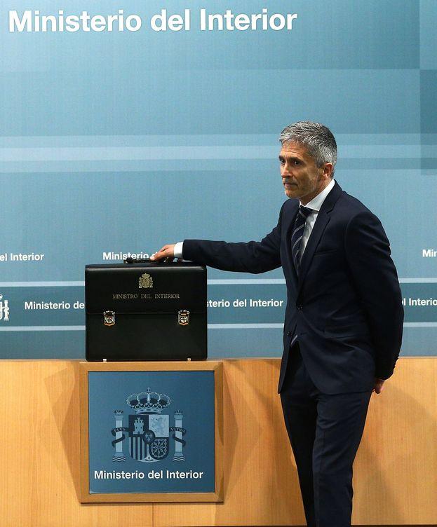 Foto: El ministro del Interior, Fernando Grande-Marlaska.