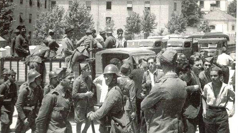 Guerra Civil en Granada.