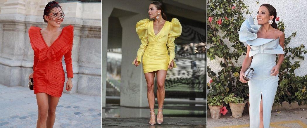 Paula Ordovás con tres vestidos de Fernando Claro. (Redes)