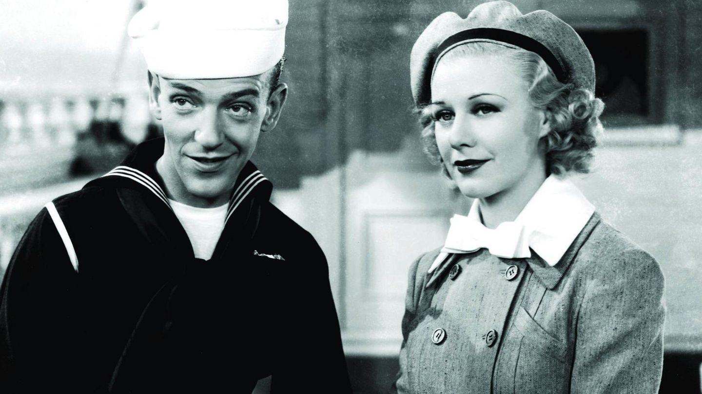 Ginger Rogers y Fred Astaire, una pareja mítica en 'Sigamos la flota'. (Gtres)