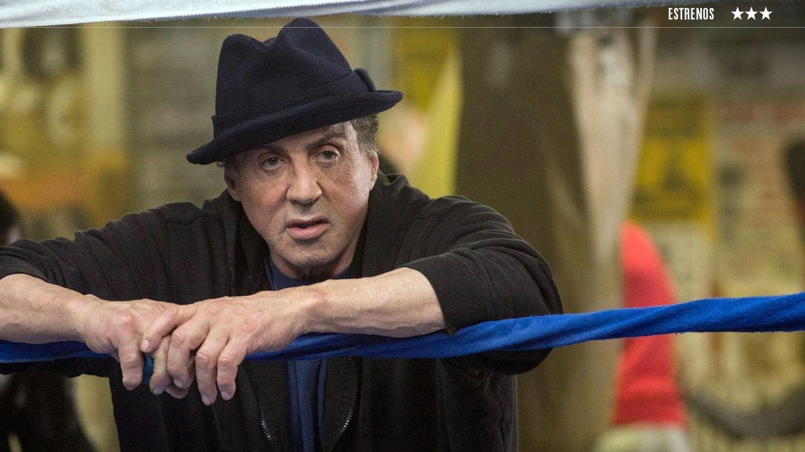 Foto: Sylvester Stallone en un fotograma de 'Creed'