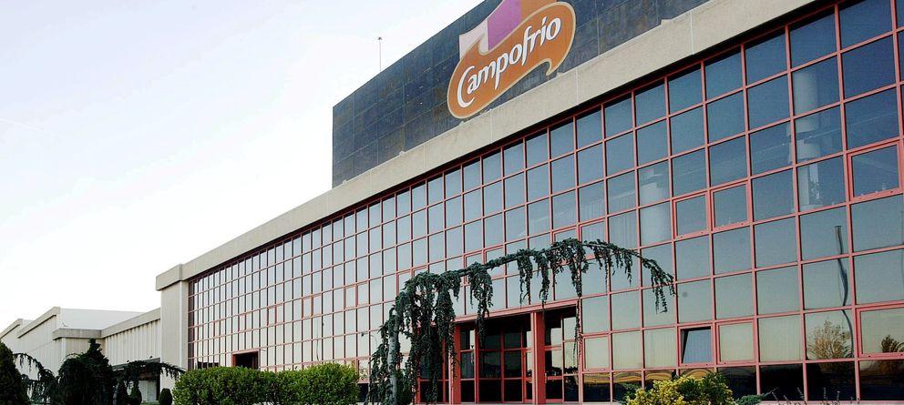 Foto: El complejo burgalés de la Bureba, que sustituyó a la antigua fábrica en la ciudad. (Foto: Campofrío)