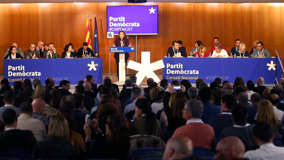 Foto: Reunión del PDeCAT en noviembre de 2017. (Reuters)