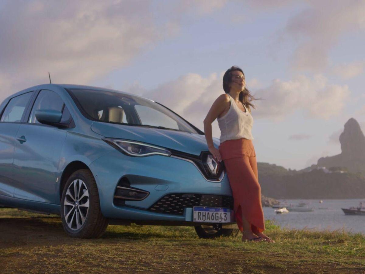 Foto: El Renault Zoe será uno de los coches empleados en la experiencia piloto de la isla Fernando de Noronha