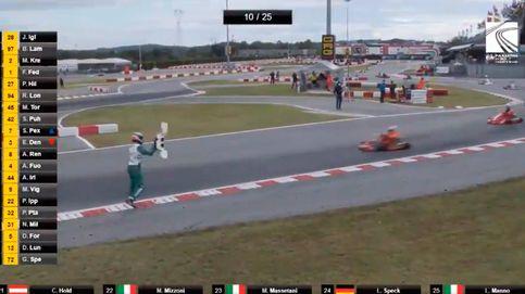 La irresponsabilidad de un piloto de karts que ha escandalizado a Jenson Button