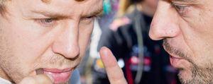 Foto: La satisfacción de Vettel fue el disgusto de Red Bull en Mónaco