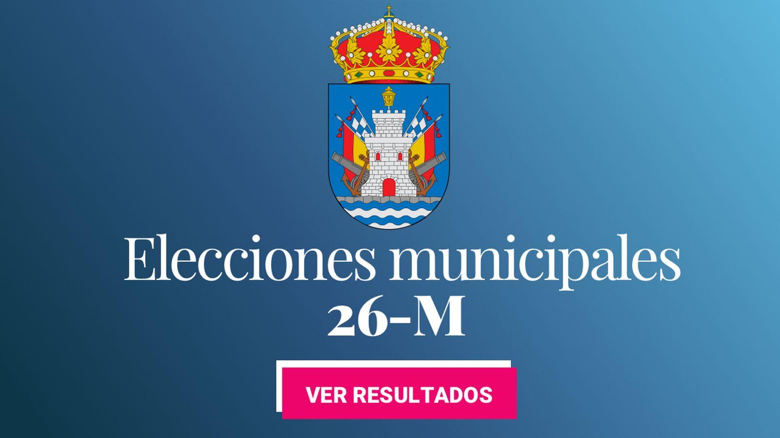 Foto: Elecciones municipales 2019 en Ferrol. (C.C./EC)